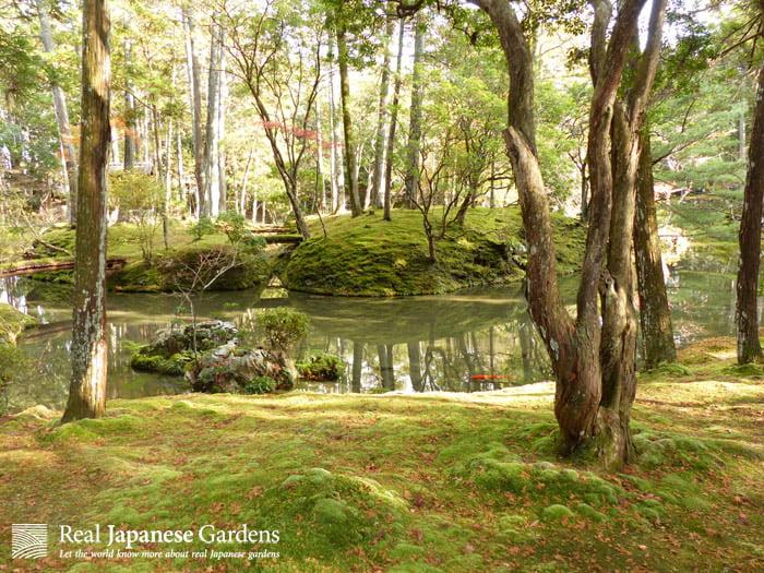 Saiho-ji or Koke-dera. The moss garden in Kyoto.